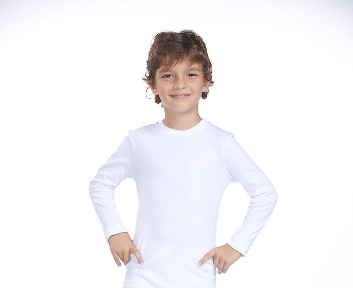 ZEYZEY - 4'Lü Ribana Erkek Çocuk Uzun Kol T-Shırt