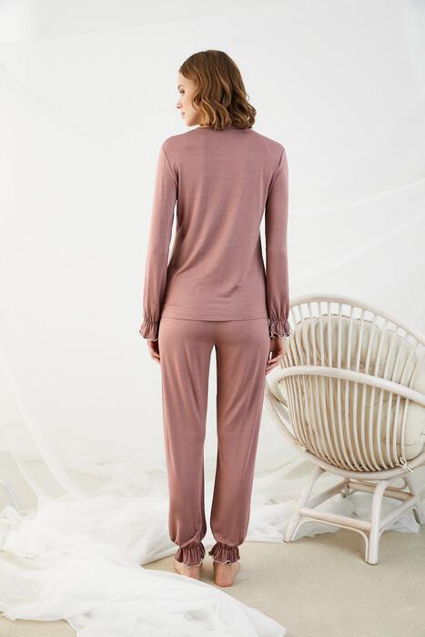ZEY - 30348 Bayan Baskılı Pijama Takım (1)