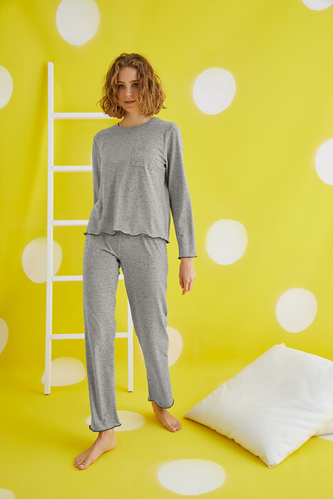 ZEY - 30403 Bayan Pijama Takım
