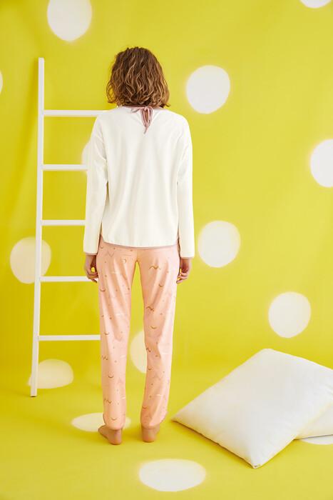 ZEY - 30406 Bayan Baskılı Pijama Takım (1)
