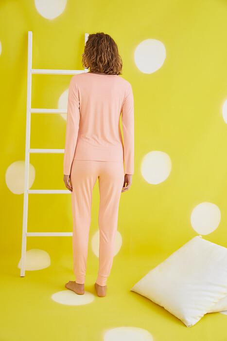 ZEY - 30436 Bayan Baskılı Pijama Takım (1)