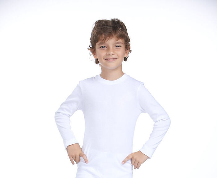 ZEYZEY - 2'Li Ribana Erkek Çocuk Uzun Kol T-Shırt