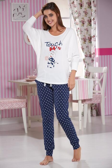 SEVİM - Baskılı Pijama Takım