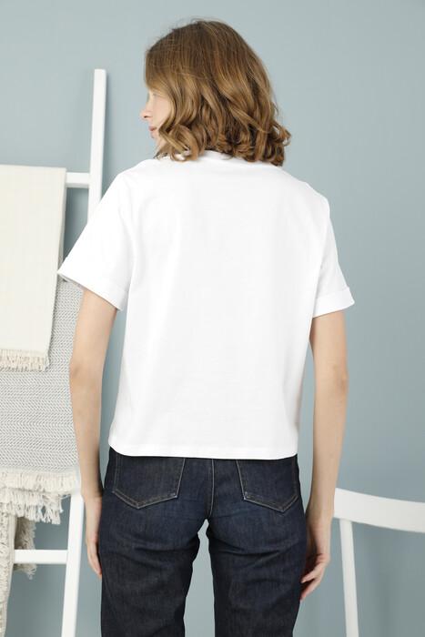 ZEY - Bayan Baskılı Basic T-Shirt (1)