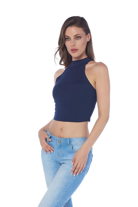 SEVİM - Bayan Crop Bluz