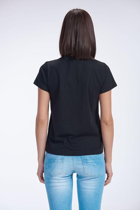 SEVİM - Bayan V Yaka T-Shirt (1)