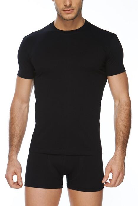 SVM - Erkek 2'li Penye Tişört (1)