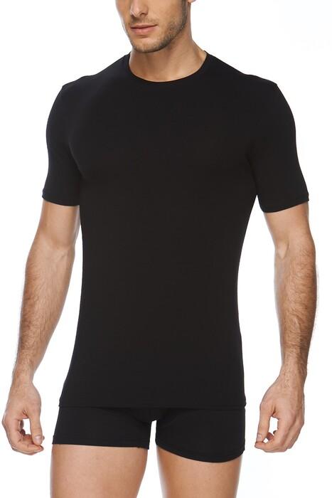 SVM - Erkek Modal Likralı O Yaka T-shirt