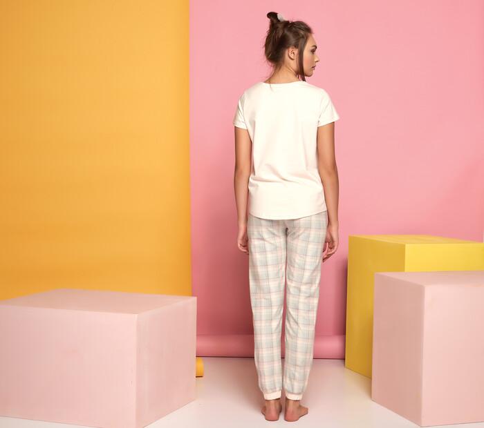 SEVİM - Kadın Baskılı Pijama Takım (1)