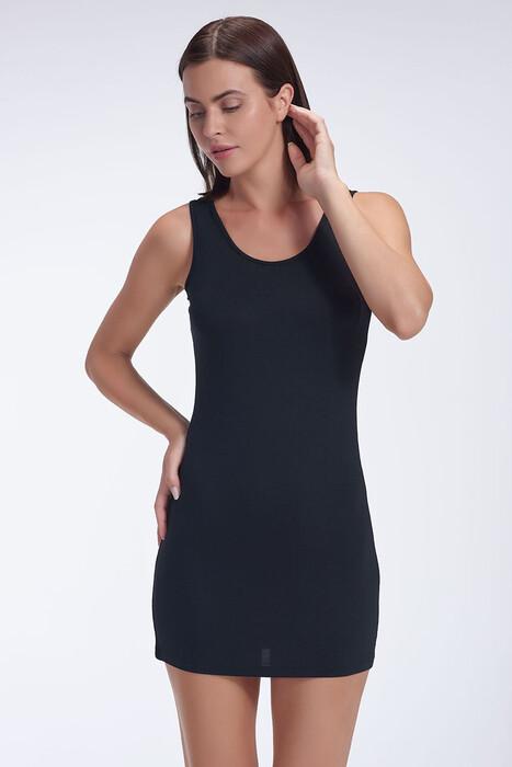SEVİM - Kadın Kalın Askılı Tunik