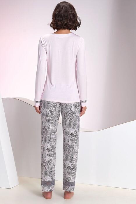 SEVİM - Kadın Pembe Pijama Takım (1)